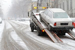 Abingdon Towing snow