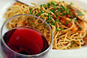 Wine and Spaghetti